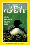 Cover of the April  1989 National Geographic Magazine