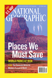 Cover of the October  2006 National Geographic Magazine