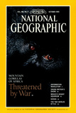 Cover of the October  1995 National Geographic Magazine