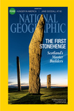 Cover of the August 2014 National Geographic Magazine