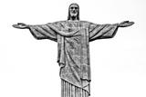 Cristo Redentor  Christ Redeemer  on Corcovado Mountain in Rio De Janeiro  Brazil