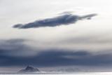 The Frozen Landscape Off Isfjorden  Spitsbergen Island