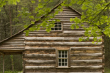 The Carter Shields Cabin in the Cades Cove Section of Great Smoky Mountains National Park