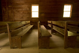 The Primitive Baptist Church in the Cades Cove Section of Great Smoky Mountains National Park