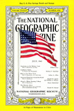 Cover of the July  1943 National Geographic Magazine