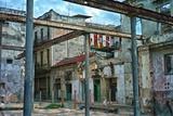 Deteriorated Buildings in Old Havana