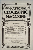 Cover of the September  1904 National Geographic Magazine