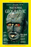 Cover of the April  1986 National Geographic Magazine