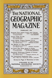 Cover of the February  1956 National Geographic Magazine