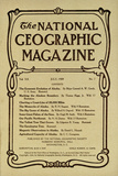 Cover of the July  1909 National Geographic Magazine