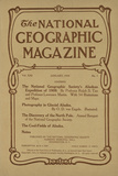 Cover of the January  1910 National Geographic Magazine
