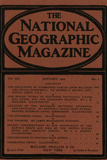 Cover of the January  1901 National Geographic Magazine