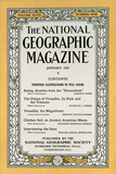 Cover of the January  1925 National Geographic Magazine