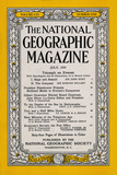 Cover of the July  1954 National Geographic Magazine