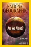 Cover of the December  2009 Issue of National Geographic Magazine