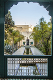 A Reflecting Pool in Le Jardin Des Biehn  a Riad or Small Hotel in the Medina of Fez