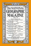Cover of the April  1956 National Geographic Magazine