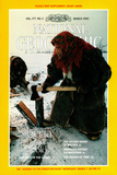 Cover of the March  1990 National Geographic Magazine