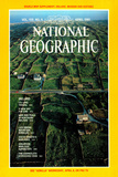 Cover of the April 1981 National Geographic Magazine