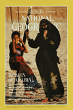 Cover of the October  1987 National Geographic Magazine
