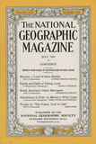 Cover of the July  1930 National Geographic Magazine