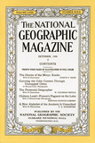 Cover of the October  1930 National Geographic Magazine