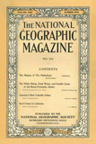 Cover of the May  1912 National Geographic Magazine