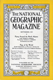 Cover of the September  1934 National Geographic Magazine