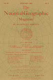 Cover of the February  1898 National Geographic Magazine