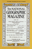 Cover of the June  1959 National Geographic Magazine