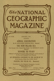 Cover of the January  1907 National Geographic Magazine