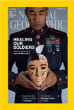 Cover of the February  2015 National Geographic Magazine