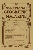Cover of the February  1904 National Geographic Magazine