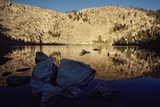 Coyote Lake a High Sierra Lake in Golden Trout Wilderness at Sunrise