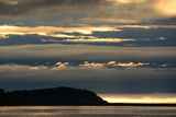 Sunrise View with Fog on the Horizon from the Cabot Trail in Cape Breton Highlands National Park