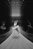 A Ballerina Dancing in the New Edward P Evans Hall at Yale University