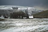 Farmland after Winter Snow