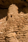 Ruins of a Small Cliff Dwelling  Step House  in Mesa Verde National Park