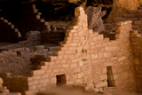 Ruins of a Cliff Dwelling  Long House  in Mesa Verde National Park