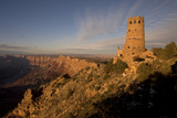 Desert View Watchtower and Surrounding Grand Canyon