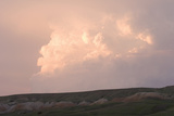 Late Afternoon Clouds Above the Buffalo Gap National Grasslands