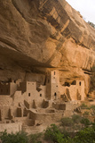 The Ruins of a Cliff Dwelling  Cliff Palace  in Mesa Verde National Park