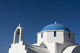 A Small Blue and White Chapel on Antiparos Island