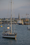Harbour at Dun Laoghaire  a Suburb of Dublin