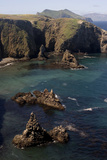 Cathedral Cove on Anacapa Island in Channel Islands National Park