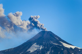 A Small Eruption of the Villarrica Volcano