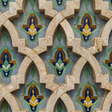 Hassan Ii Mosque Tile Detail