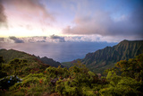 The Kalalau Valley at Sunset