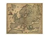 Map of Europe  1700