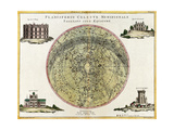 Southern Celestial Planisphere  1777